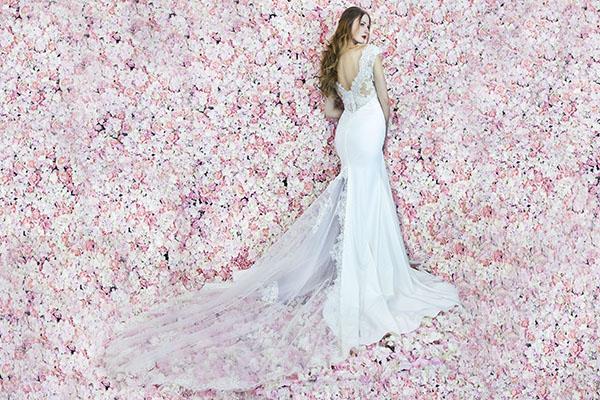 elastické svatební šaty v Praze