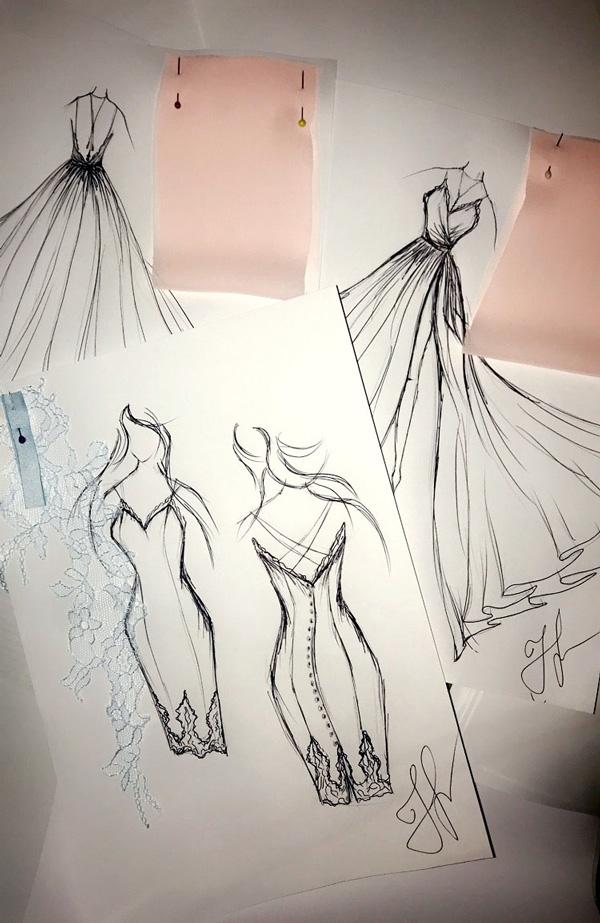 Ateliér v Praze výroba šatů na míru