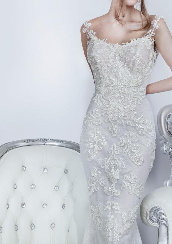 Sexy svatební šaty pro nevěsty