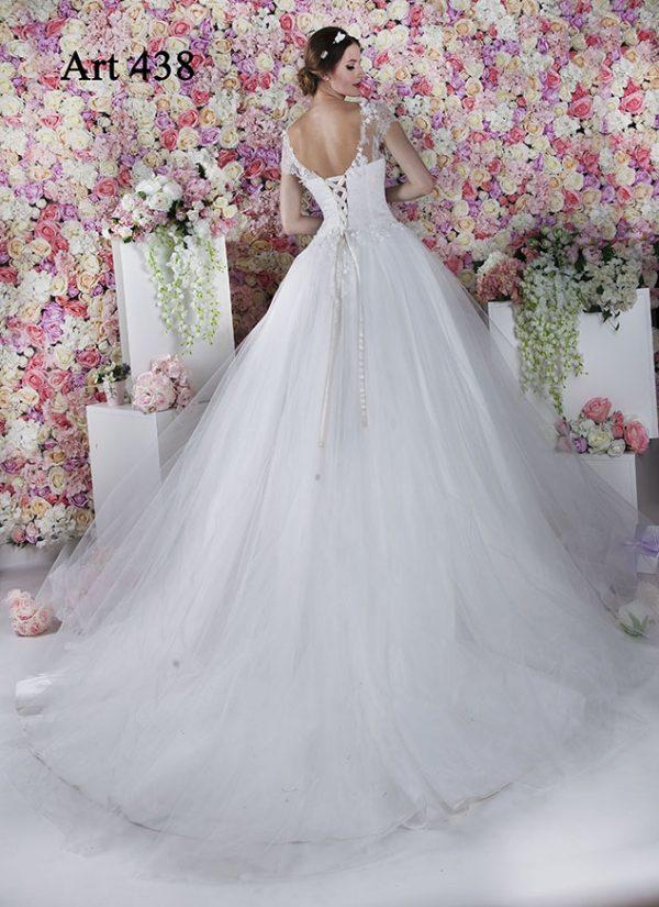 Svatební šaty na šněrování Praha