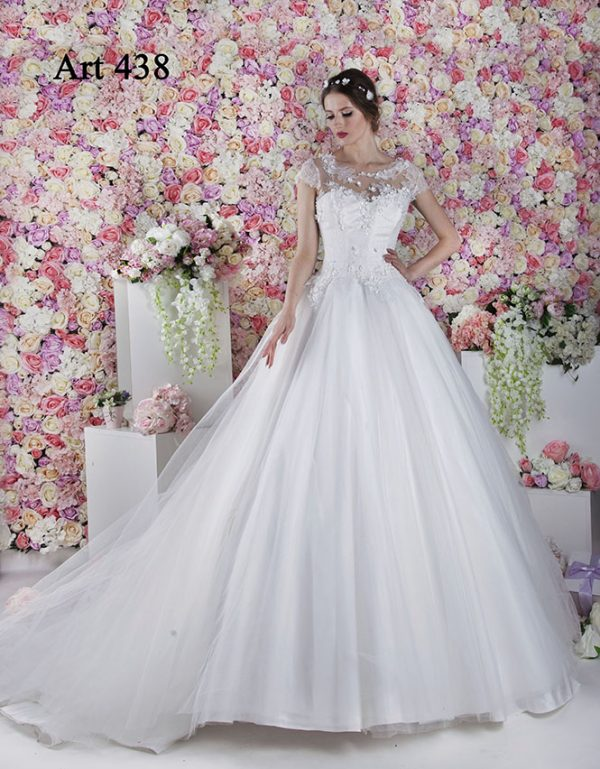Svatební šaty jako pro opravdovou princeznu