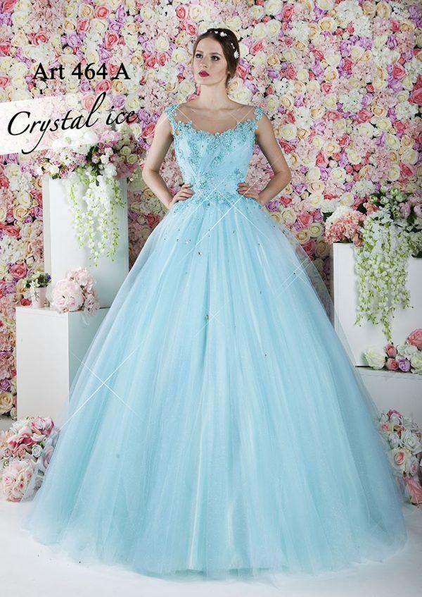 Plesové šaty s kamínky velmi luxusního stylu