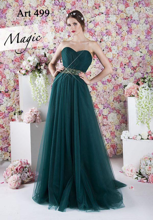 Luxusní barva pro šik společenské šaty