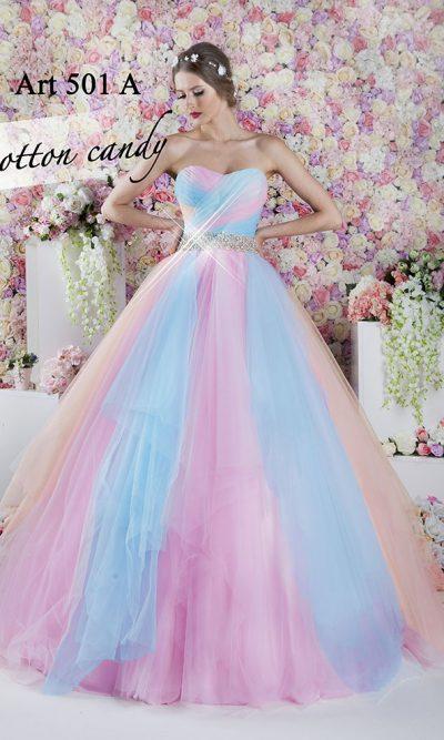 Cukrové šaty na maturitní ples pro princeznu