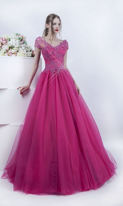 Plesové šaty s krásným živůtkem