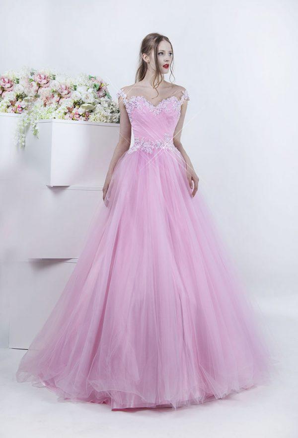 Pohádkové princeznovské plesové šaty