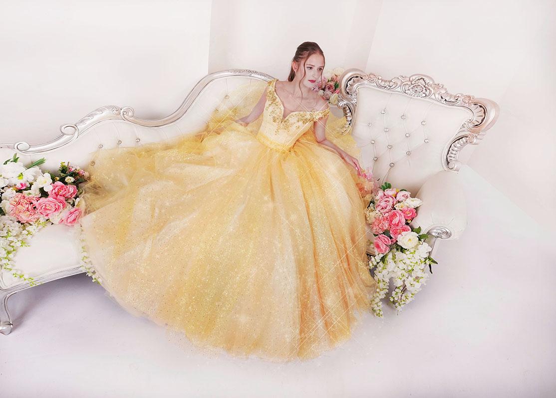 Plesové šaty Praha jako princezna Disney