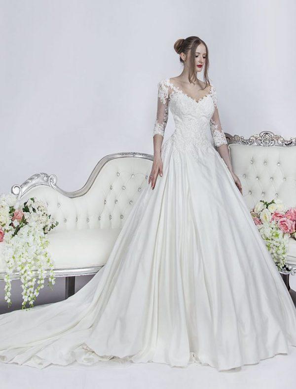 Svatební šaty pro princeznu velké velikosti