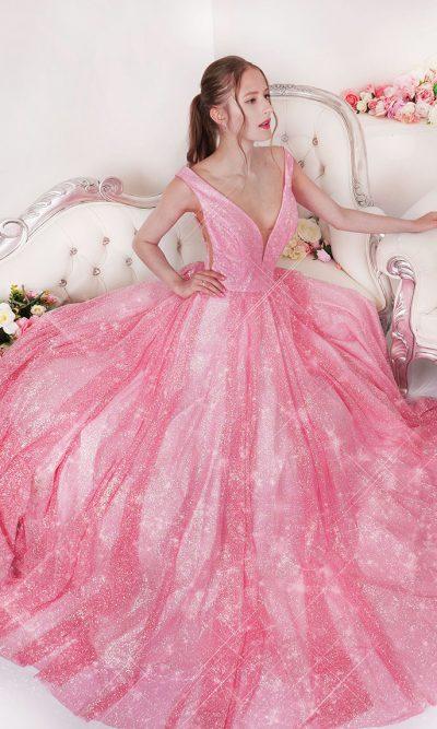 Půjčení princeznovských plesových šatů