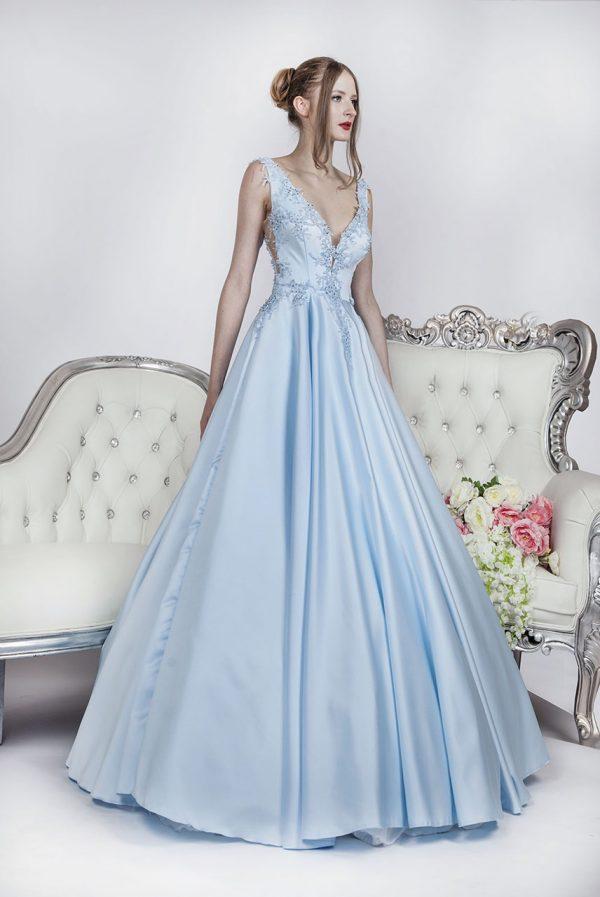 Elegantní plesové šaty pro něžnou princeznu