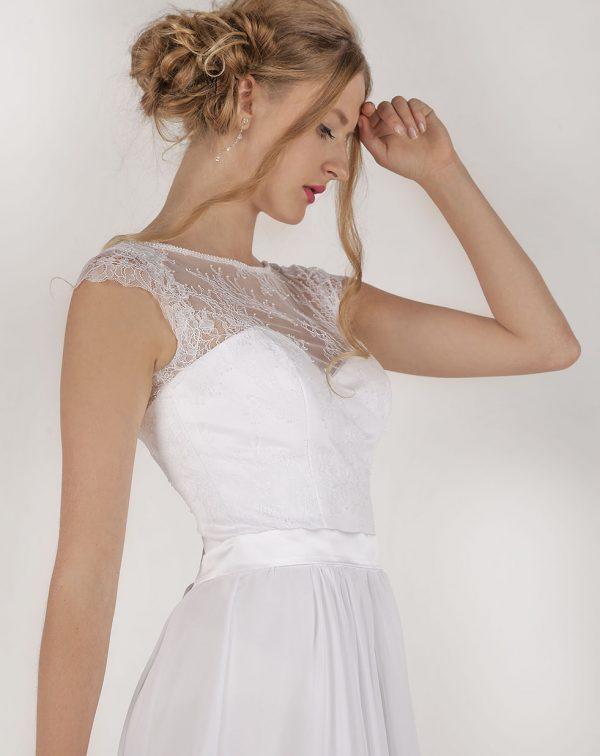 Svatební šaty romantického stylu