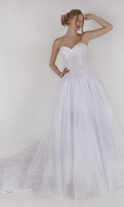 Výprodejové svatební šaty pro princeznu