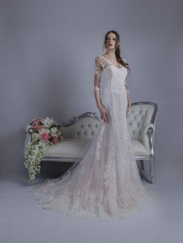 Svatební šaty s tulipánovou elegantní sukní