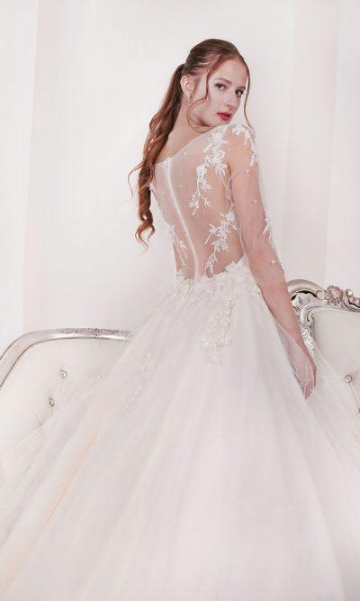 Francouzské svatební šaty v Praze