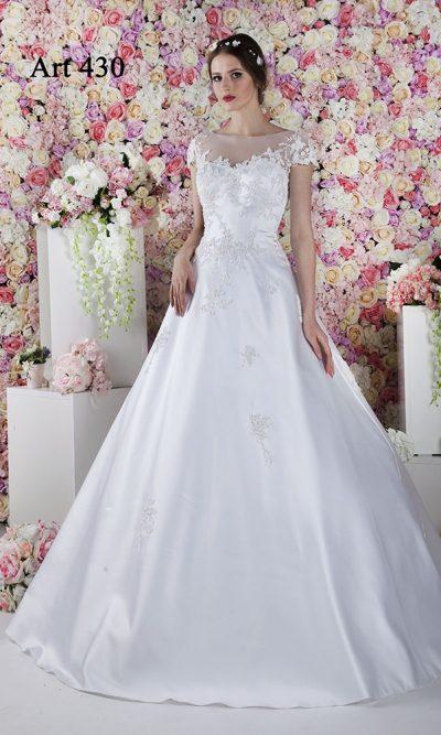 Levné svatební šaty luxusního stylu pro princeznu