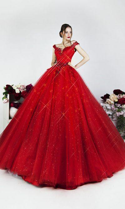 Luxusní společenské šaty v Praze