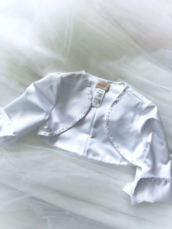 Bolérko pro družičkovské šaty s korálky