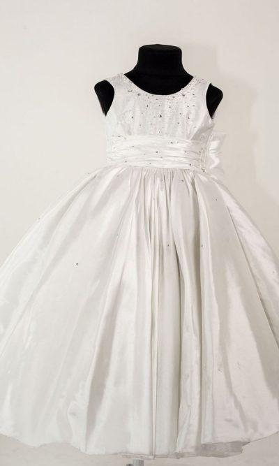 Nádherné a velmi zdobené dětské šaty pro družičku