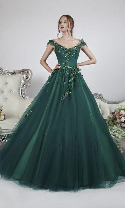 Krásné a elegantní maturitní šaty Praha
