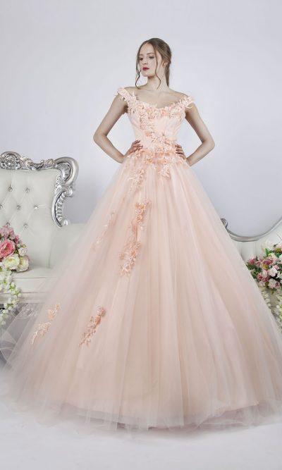 Krásné a něžné společenské šaty pro maturantku Praha
