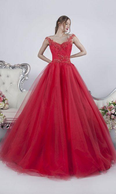 Krásné a velmi originální barvy společenské šaty