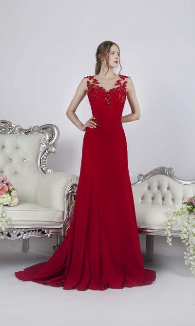 Společenské šaty z elastického materiálu