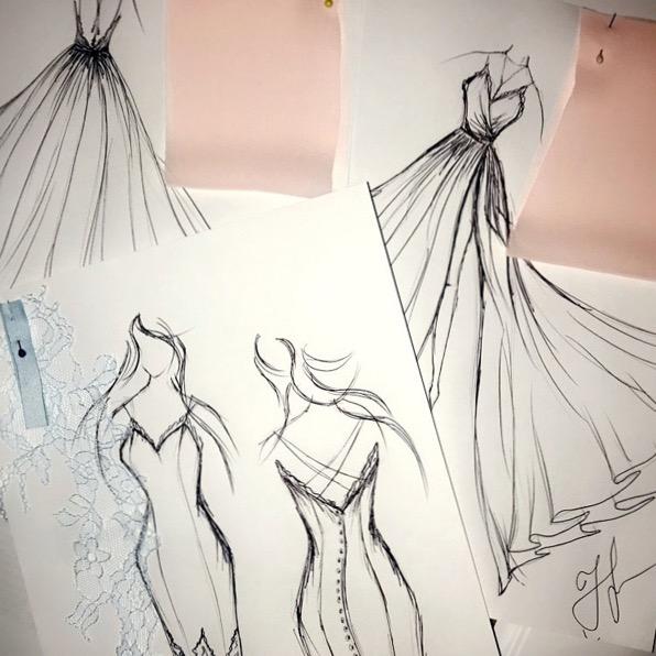 Plesové šaty na míru Praha návrhář