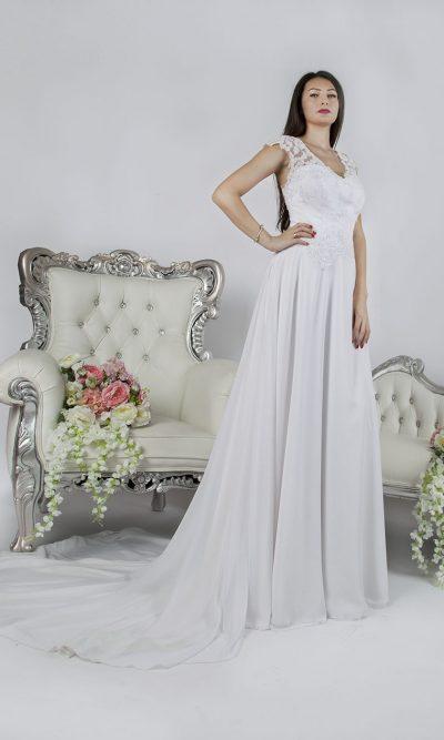 Boho svatební šaty velká velikost Praha