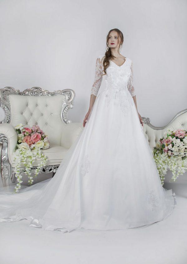 Princeznovské svatební šaty XXL