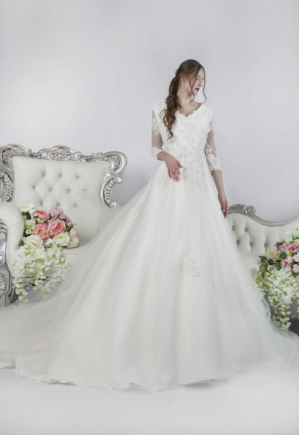 Svatební šaty velká velikost pro princeznu