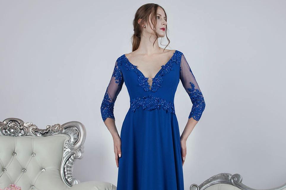 Večerní šaty pro maminku nevěsty nebo ženicha