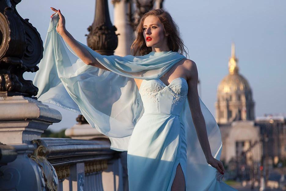 Luxusní šaty na míru konfekce na míru
