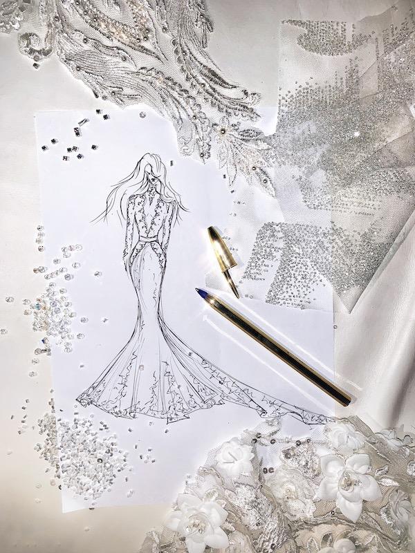 Upravit svatební šaty zmenšít zkrátit