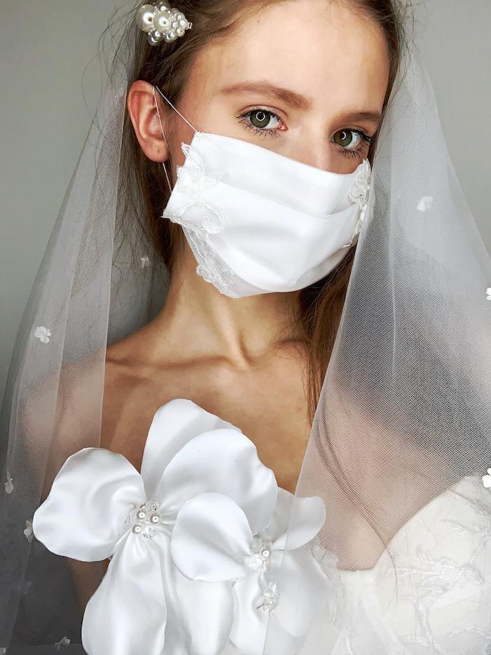 Svatební doplňky v době koronaviru