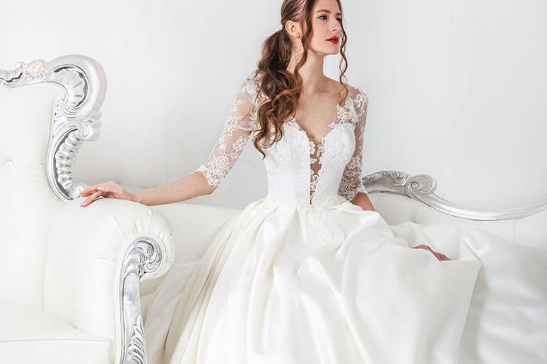 Moderní svatební šaty kolekce 2021 Praha