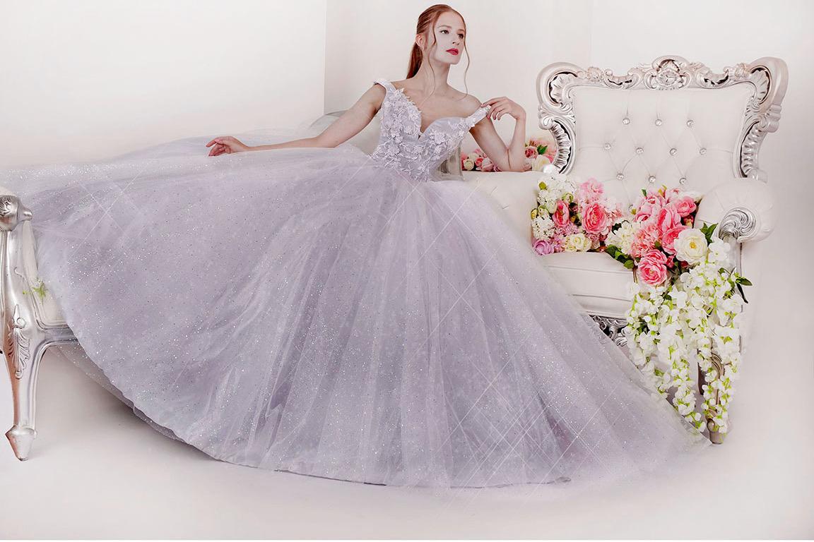 Společenské šaty pro snoubenku na večírek zásnub