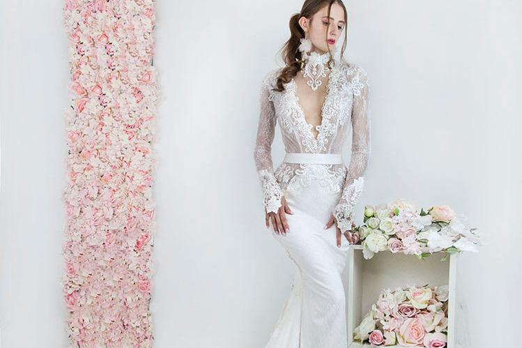 Sexy svatební šaty na míru velká velikost